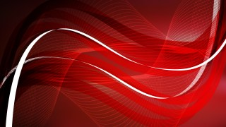 Red and Black Wavy Lines Background Template