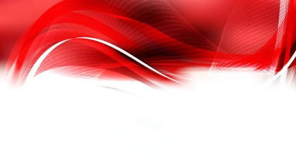 Abstract Red and White Curved Lines Background