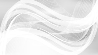 White Flowing Lines Background