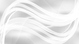 White Curved Lines Background