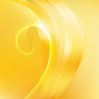 Yellow Flowing Lines Background