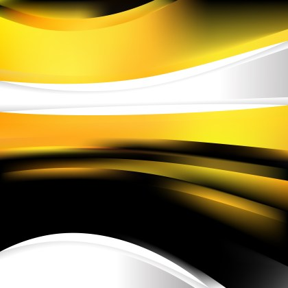 Black and Yellow Background Design Template Graphic