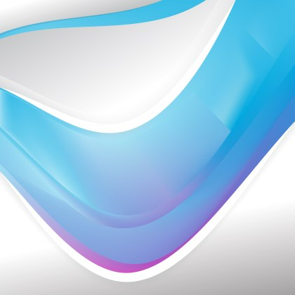 Abstract Blue and Purple Background Template Graphic