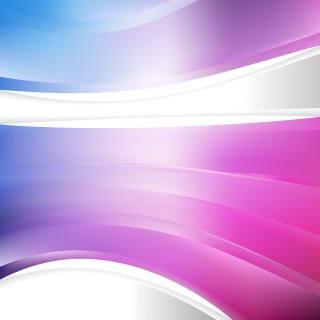 Blue Purple and White Background Template