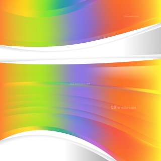 Colorful Background Template Illustration