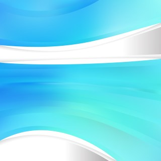 Abstract Cyan Background Design Template