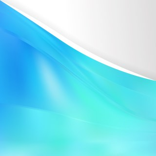 Cyan Background Design Template Image