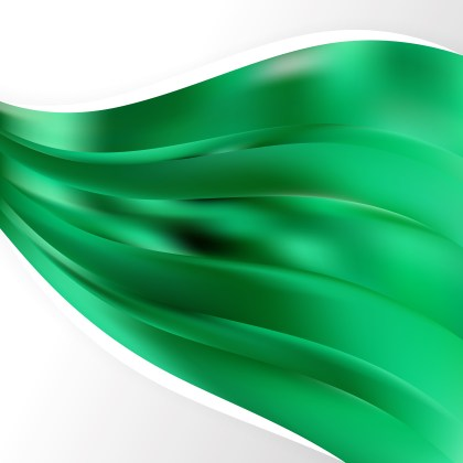 Abstract Emerald Green Background Design Template Image