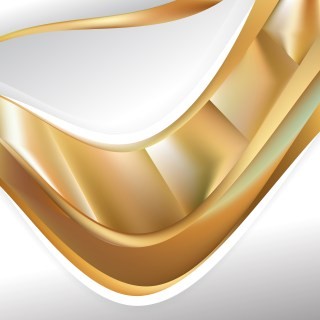 Abstract Gold Background Template