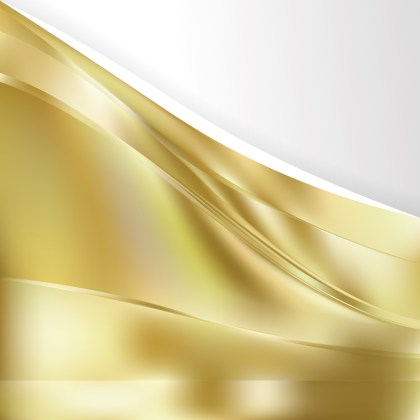 Abstract Gold Background Template Illustrator