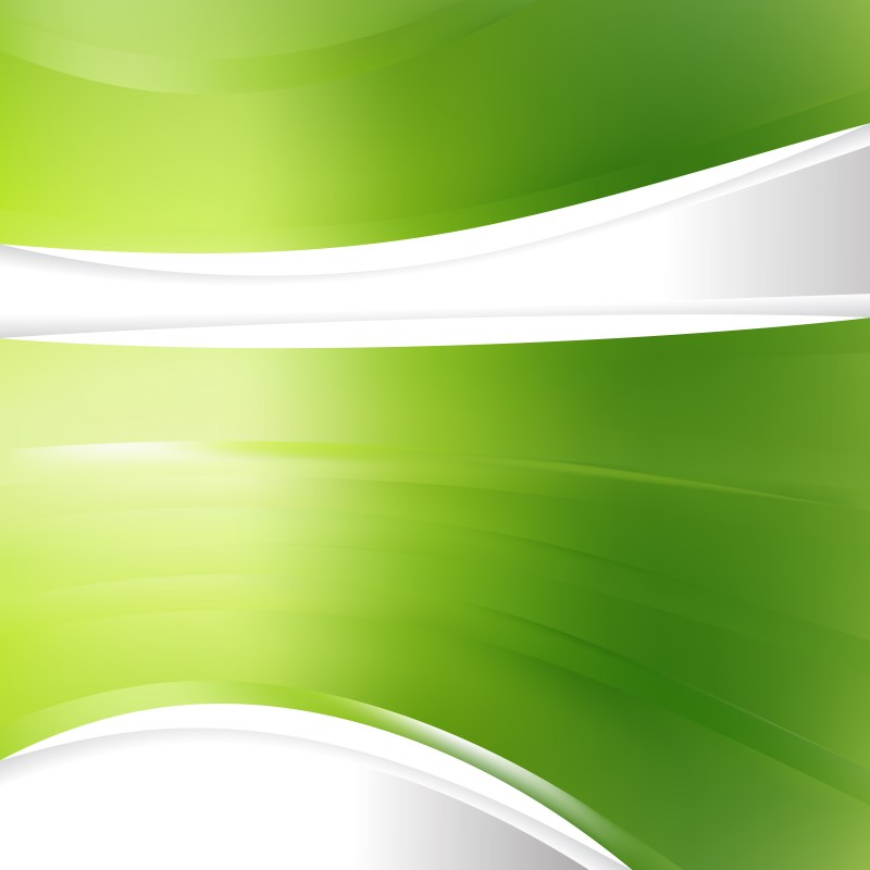 Abstract Green Background Template Design