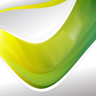 Abstract Green and Yellow Background Template