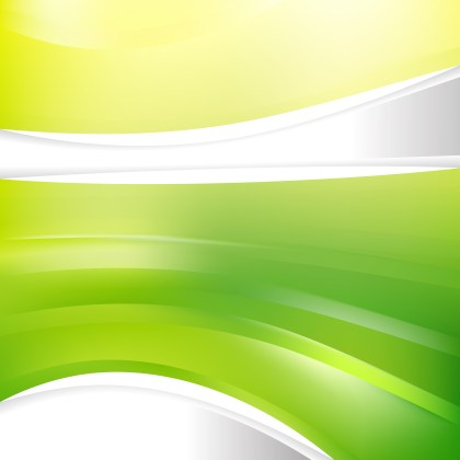 Green and Yellow Background Design Template
