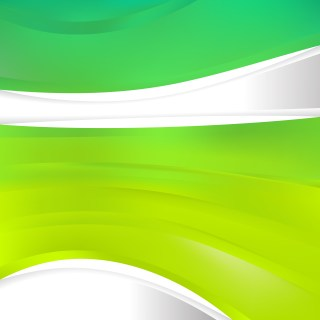Abstract Green and Yellow Background Design Template Illustrator