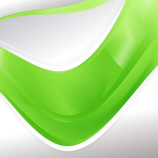Lime Green Background Design Template