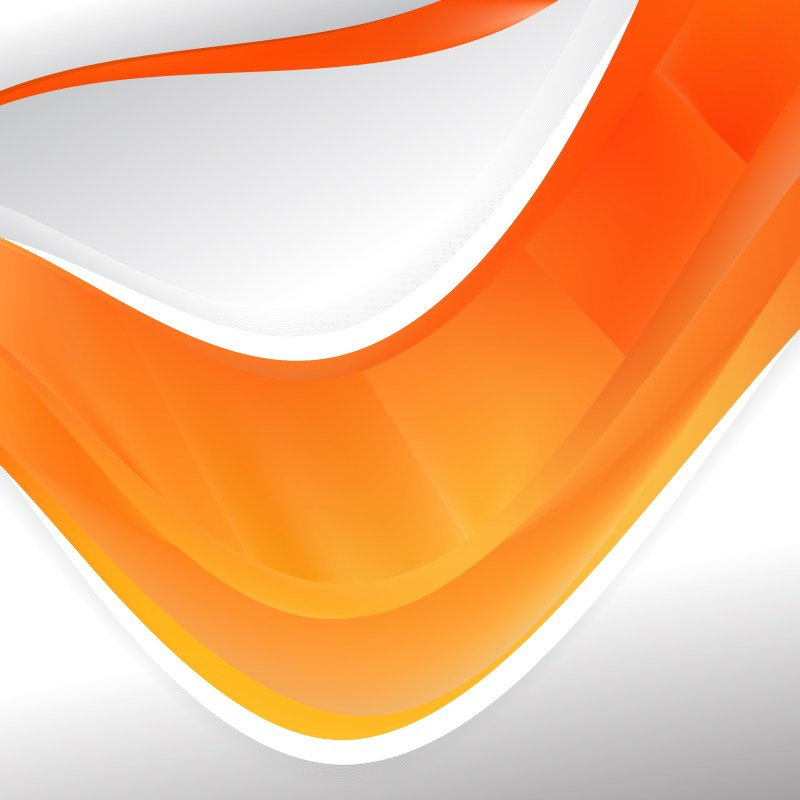 Orange Background Design Template