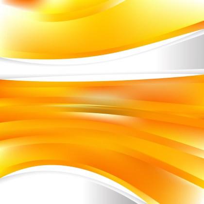 Orange Background Template