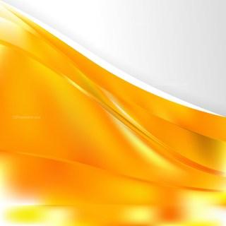 Orange Background Template Vector Graphic