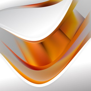 Orange and Grey Background Template