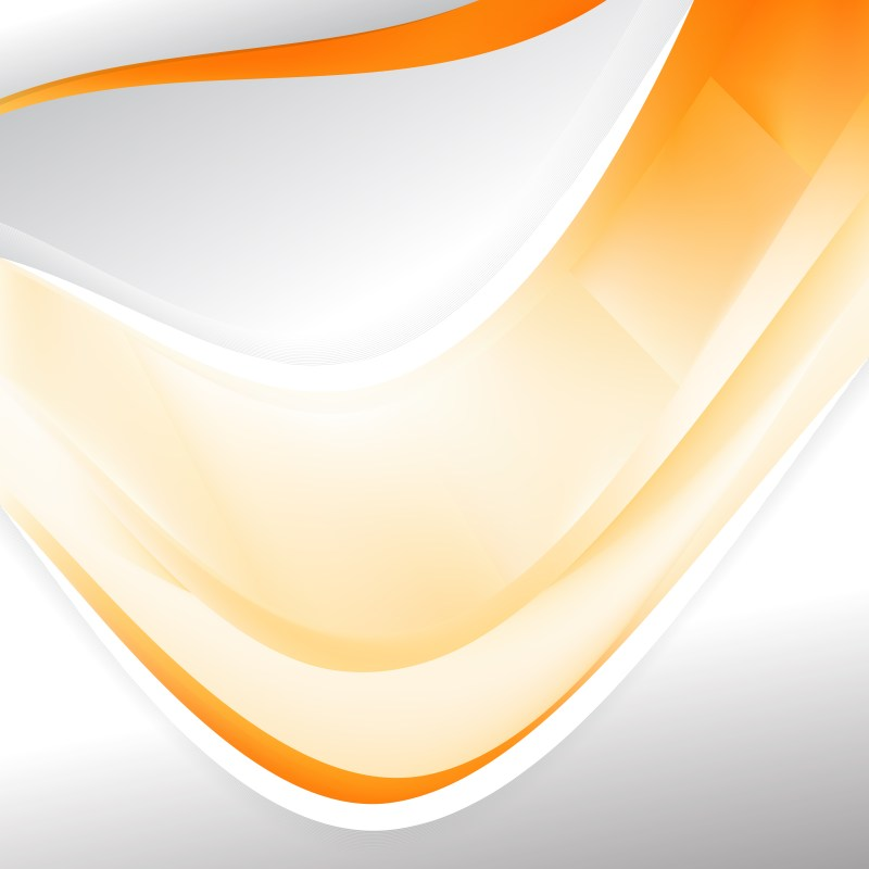 Abstract Orange and White Background Design Template Design