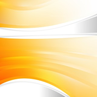 Abstract Orange and White Background Template
