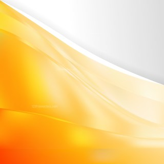 Abstract Orange and White Background Design Template
