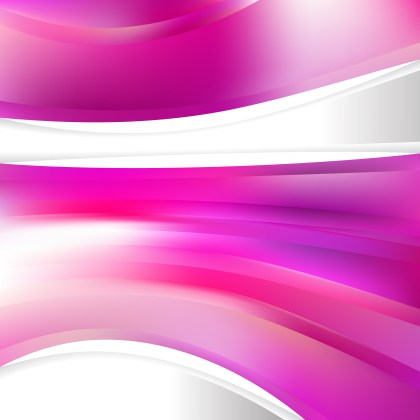 Pink and White Background Design Template Vector Illustration