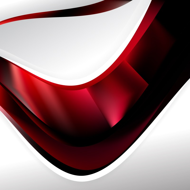 Abstract Red and Black Background Template