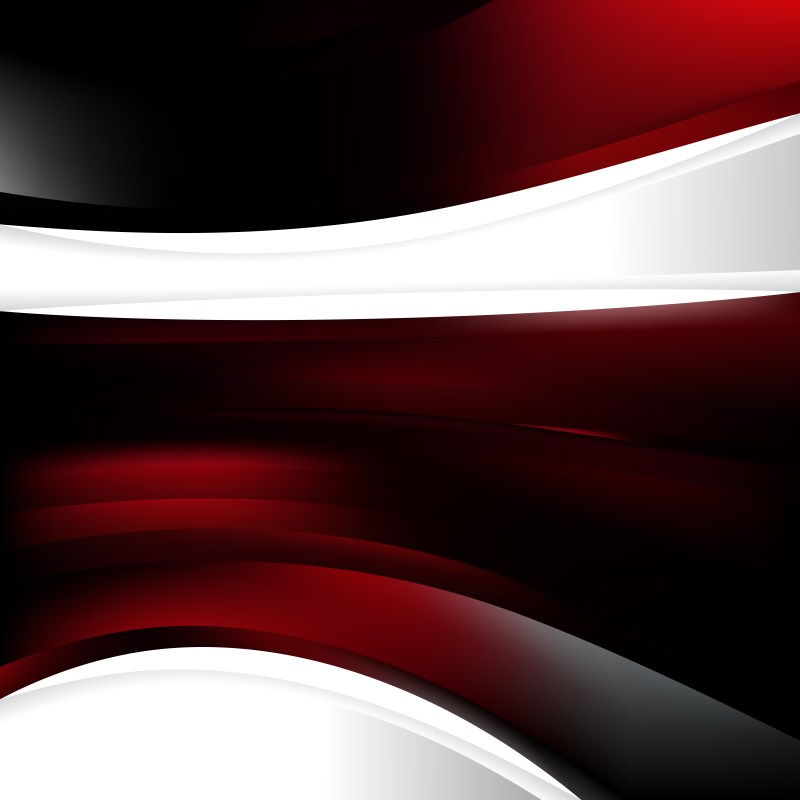Abstract Red and Black Background Design Template Graphic