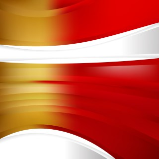 Abstract Red and Gold Background Template