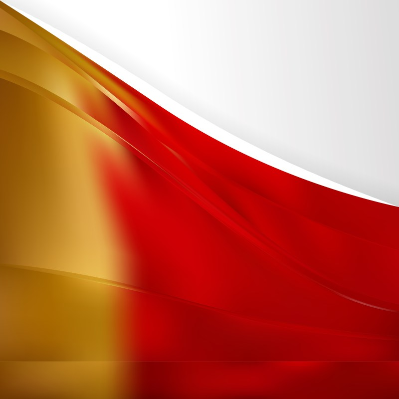 Red and Gold Background Template Image