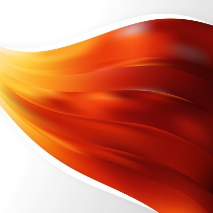 Abstract Red and Orange Background Design Template Design