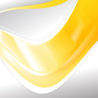 Yellow and White Background Template Vector