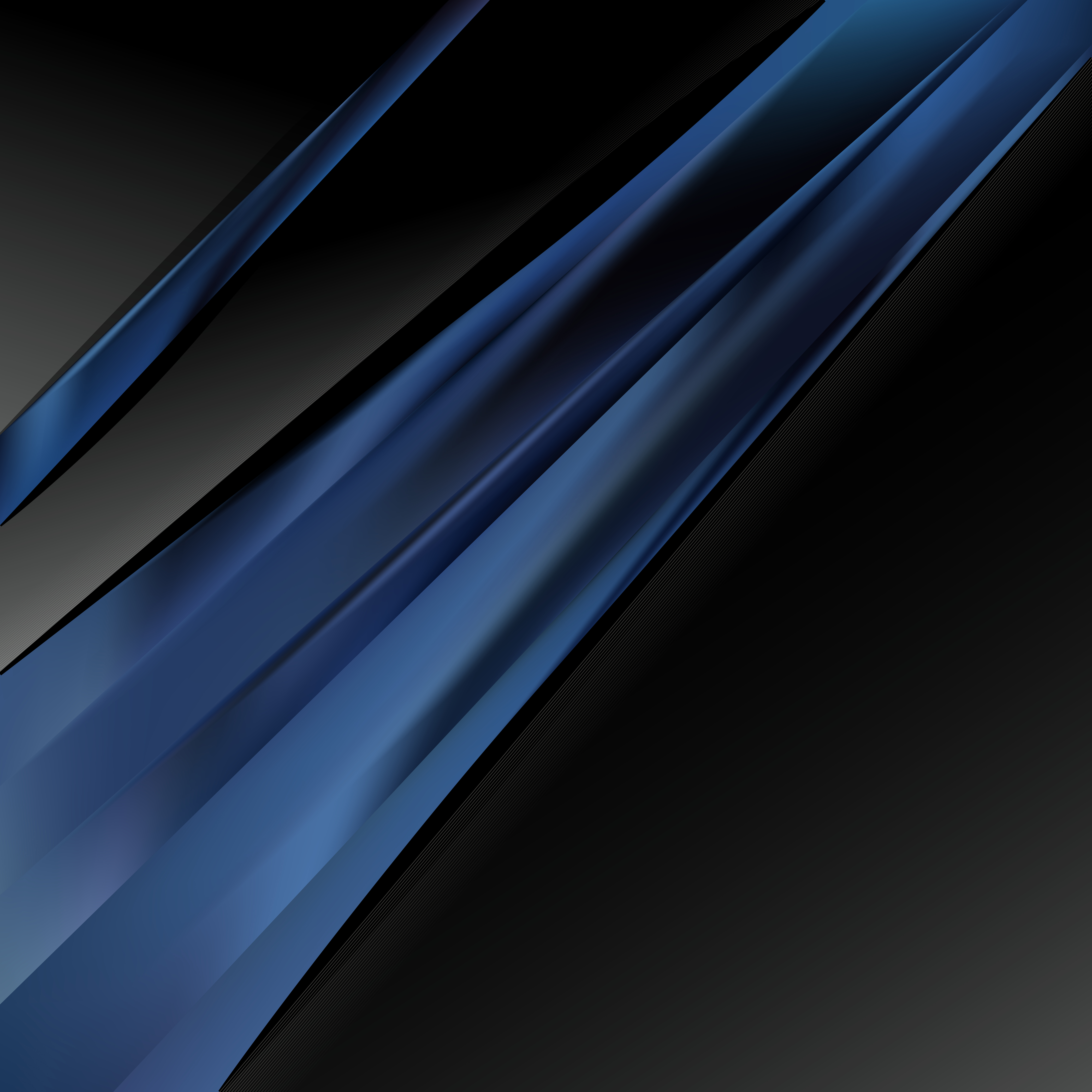 Black and Blue Business Background