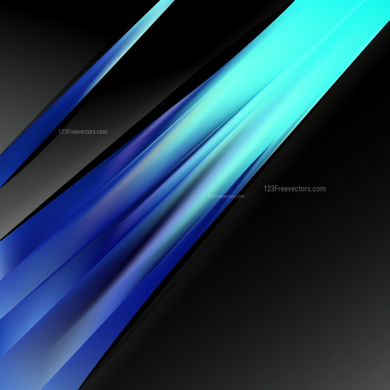 Black and Blue Business Background Template