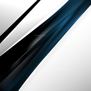Abstract Black and Blue Business Background Template