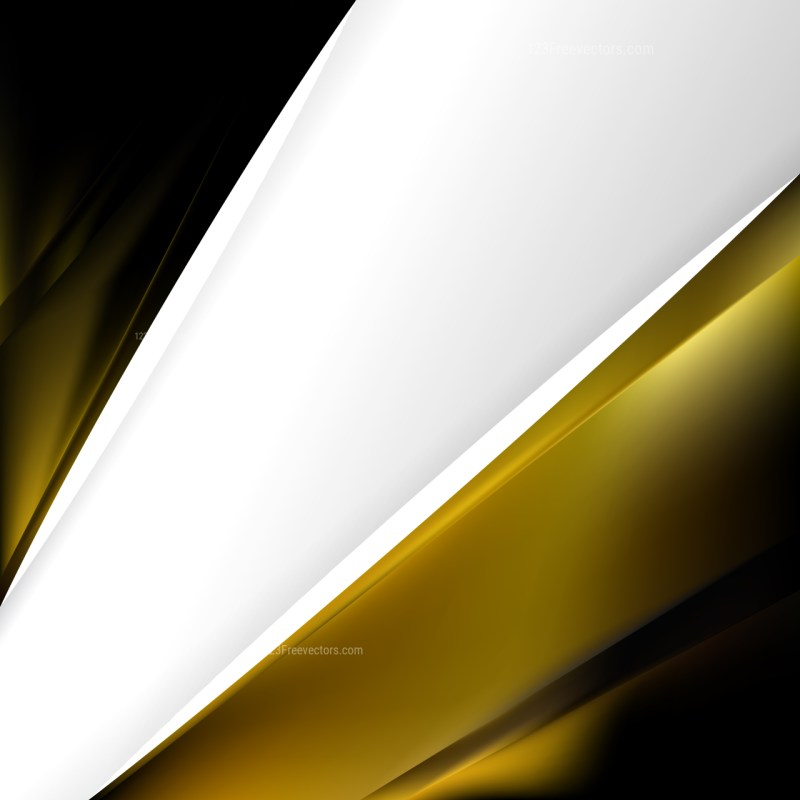 Black and Gold Business Background