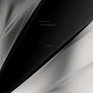 Abstract Black and Grey Brochure Design