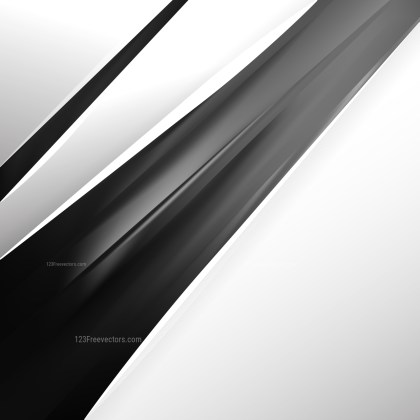 Abstract Black and Grey Business Brochure Design