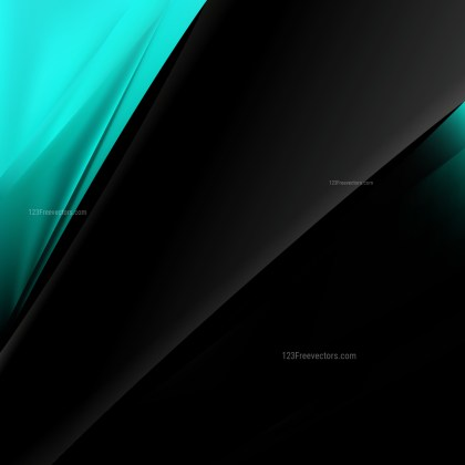 Black and Turquoise Business Background