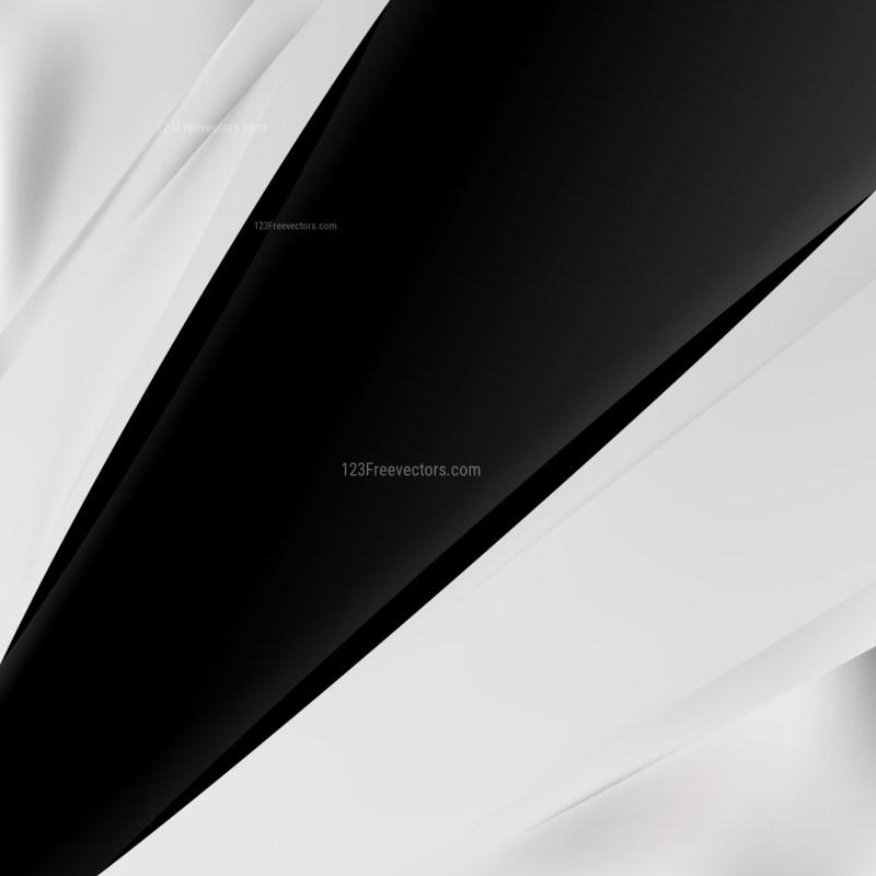 Black and White Brochure Design