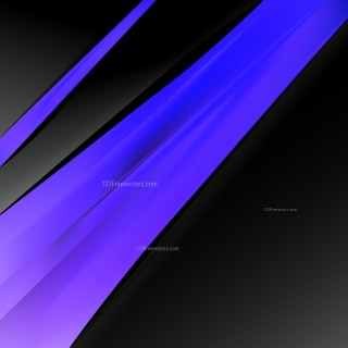 Black Blue and Purple Business Brochure