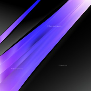 Abstract Black Blue and Purple Business Brochure Template Image