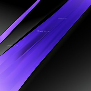 Abstract Black Blue and Purple Brochure Design Template Vector Graphic
