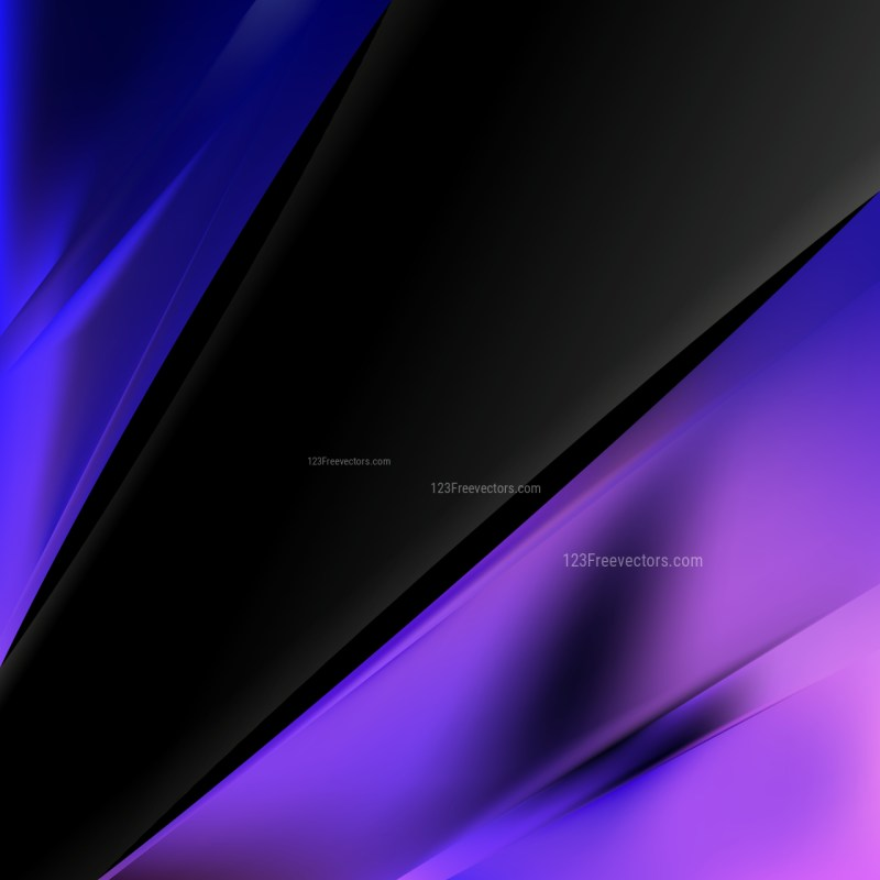 Black Blue and Purple Business Brochure Template Graphic