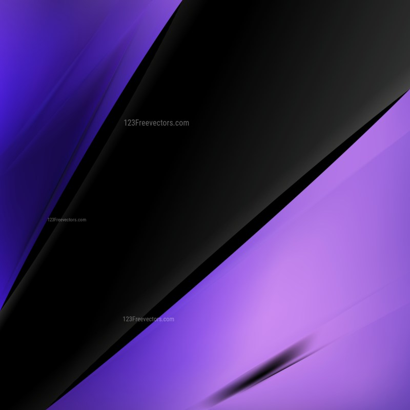 Abstract Black Blue and Purple Business Background
