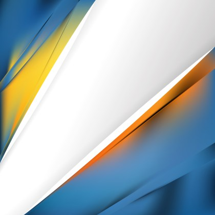 Abstract Blue and Orange Business Background Template