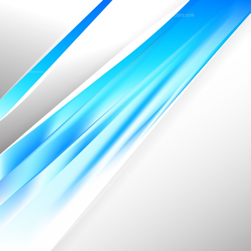 Abstract Blue and White Business Background Template Design