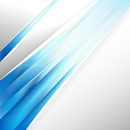 Abstract Blue and White Brochure Design Image
