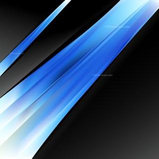 Blue Black and White Brochure Design Image